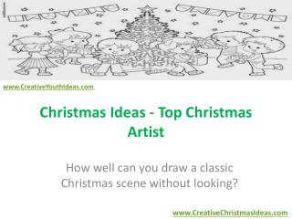 Christmas Ideas - Top Christmas Artist