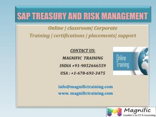 sap trm online training in uk