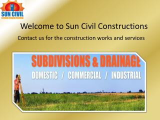 Civil Contractors in Brisbane - Sun Civil Construction