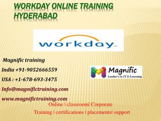 workday online training certifications kolkata
