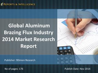 R&I: Global Aluminum Brazing Flux Industry Market 2014