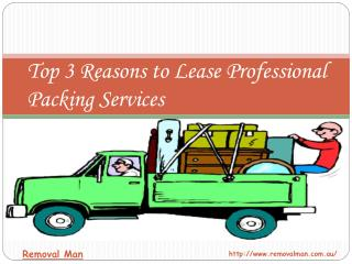 Top 3 Reasons to Lease Professional Packing Service