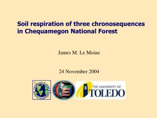 Soil respiration of three chronosequences in Chequamegon National Forest