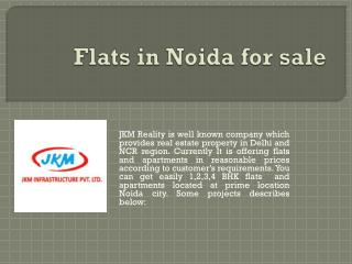 Flats in Noida for sale