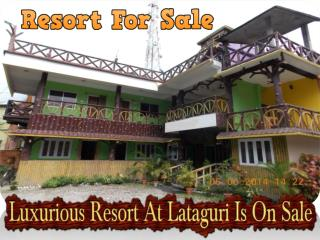 Exquisite Hotel at Siliguri is on Sale