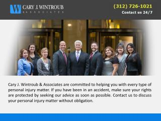 Cary J. Wintroub & Associates - Helps to Get Compensation Yo
