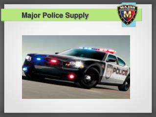 Police Lights:  LED It Is To Improve Efficiency