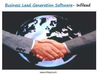 Business Lead Generation Software- Infilead