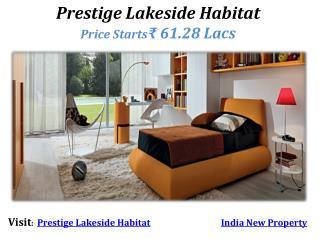 Prestige Lakeside Habitat Bangalore