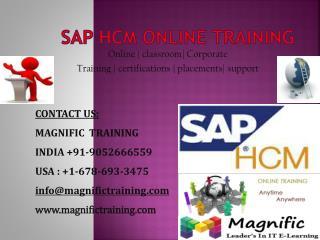 sap hcm online training in uk