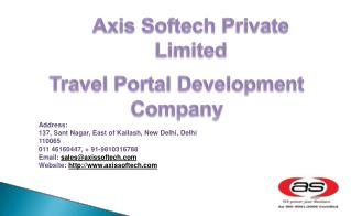 B2B Travel Portal Development | B2C Travel Portal