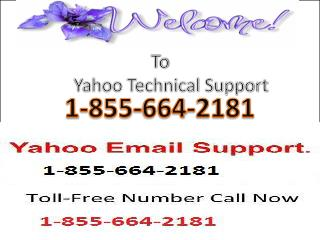 1-855-664-2181 Yahoo Customer Support Services