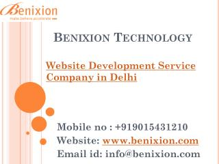 Website Development Service Company in Delhi
