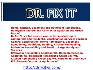 Home, Kitchen, Basement and Bathroom Remodeling, Handyman an