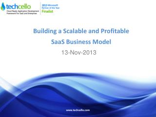 Building a Scalable and Profitable SaaS Business Model