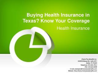 Health Insurance in Dallas, Texas