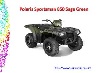 Polaris Sportsman 850 Sage Green