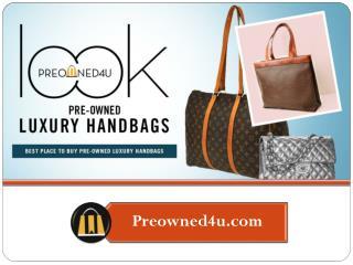 Pre-owned- Luxury Handbags