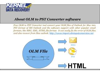 Get Advanced OLM to PST Converter Tool
