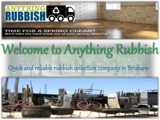Anything Rubbish