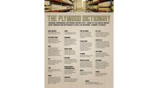 Plywood Dictionary
