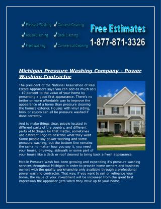 Siding washing clarkston