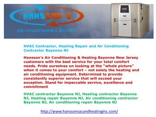 HVAC Contractor, Heating Repair and Air Conditioning Contrac