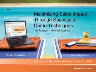 Maximising Sales Impact Through Successful Demo Techniques