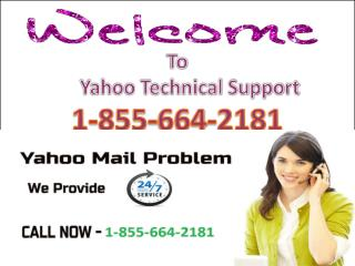 1-855-664-2181 Contact Yahoo Password Recovery