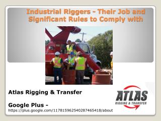 What is meant by Rigging? & Essential Rigging Guidelines