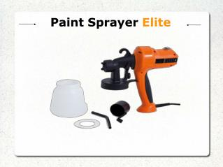 Paint Sprayer Elite