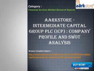 Aarkstore - Intermediate Capital Group plc (ICP)