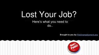 Follow These Steps When Lost Your Job
