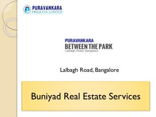 Purva Between the Parks - Real Essence of Architecture