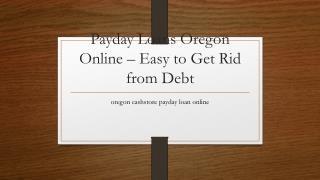 oregon cashstore payday loan online