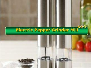 Different Places Where Electric Pepper Mill Can Be Used