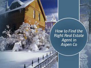 Tips to Choose Real Estate Agents in Aspen Co – Gary Feldman