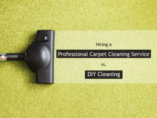 Benefits of Hiring a Professional Carpet Cleaning Service