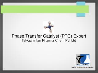 Phase transfer catalyst supplier