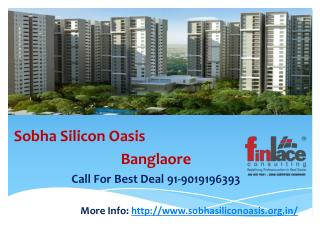 Sobha Silicon Oasis Hosa Road Bangalore