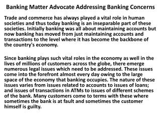 Kislay Pandey - Banking Matter Advocate