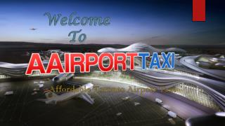 Affordable Toronto Airport Taxi