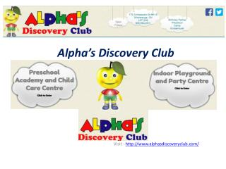 Alphasdiscovery Club Mississauga