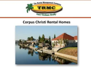 Corpus Christi Rental Homes