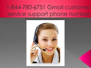 // 1-844-780-6751 && Gmail Tech Support Helpline Number USA