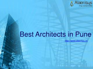 top architects in pune