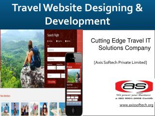 Tour and Travel Website Designing Services - Axis Softech