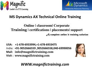 microsoft dynamics ax 2012 technical online training