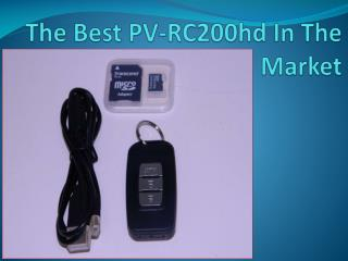 The Best PV-RC200hd In The Market