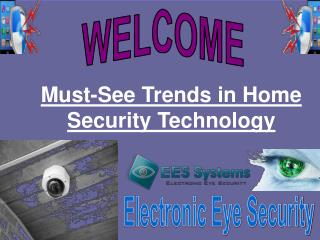 Must-See Trends in Home Security Technology